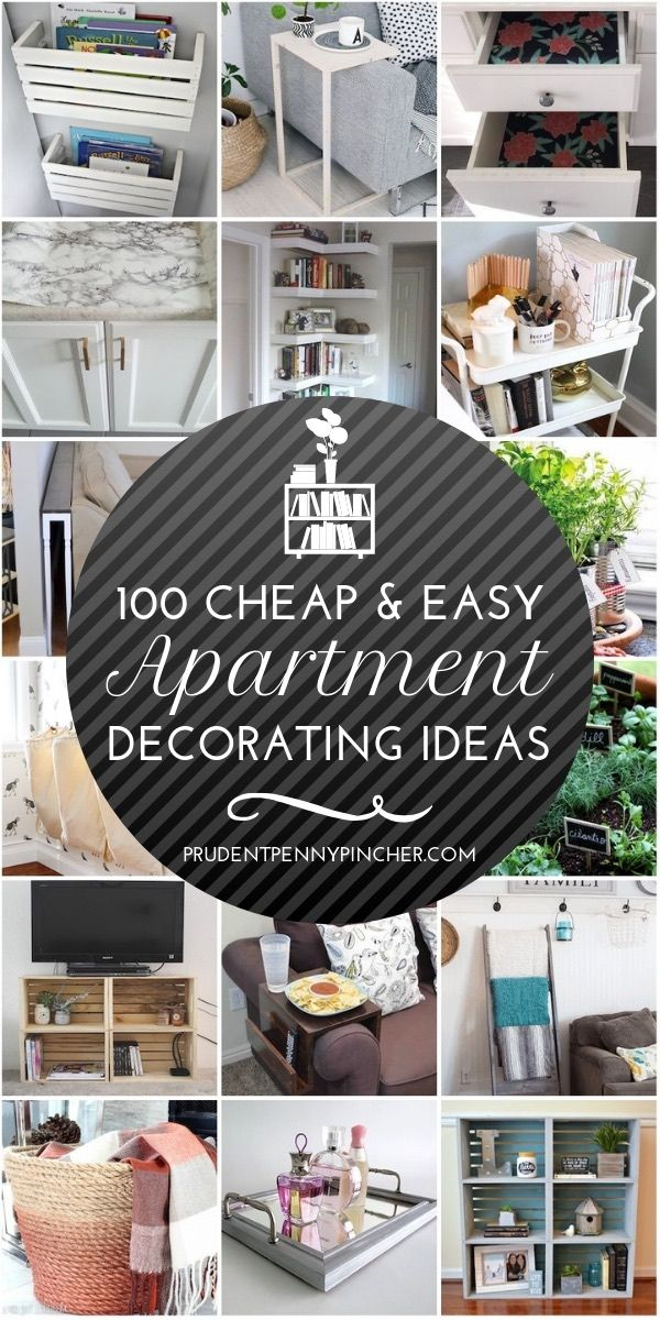 100 Cheap and Easy DIY Apartment Decorating Ideas images
