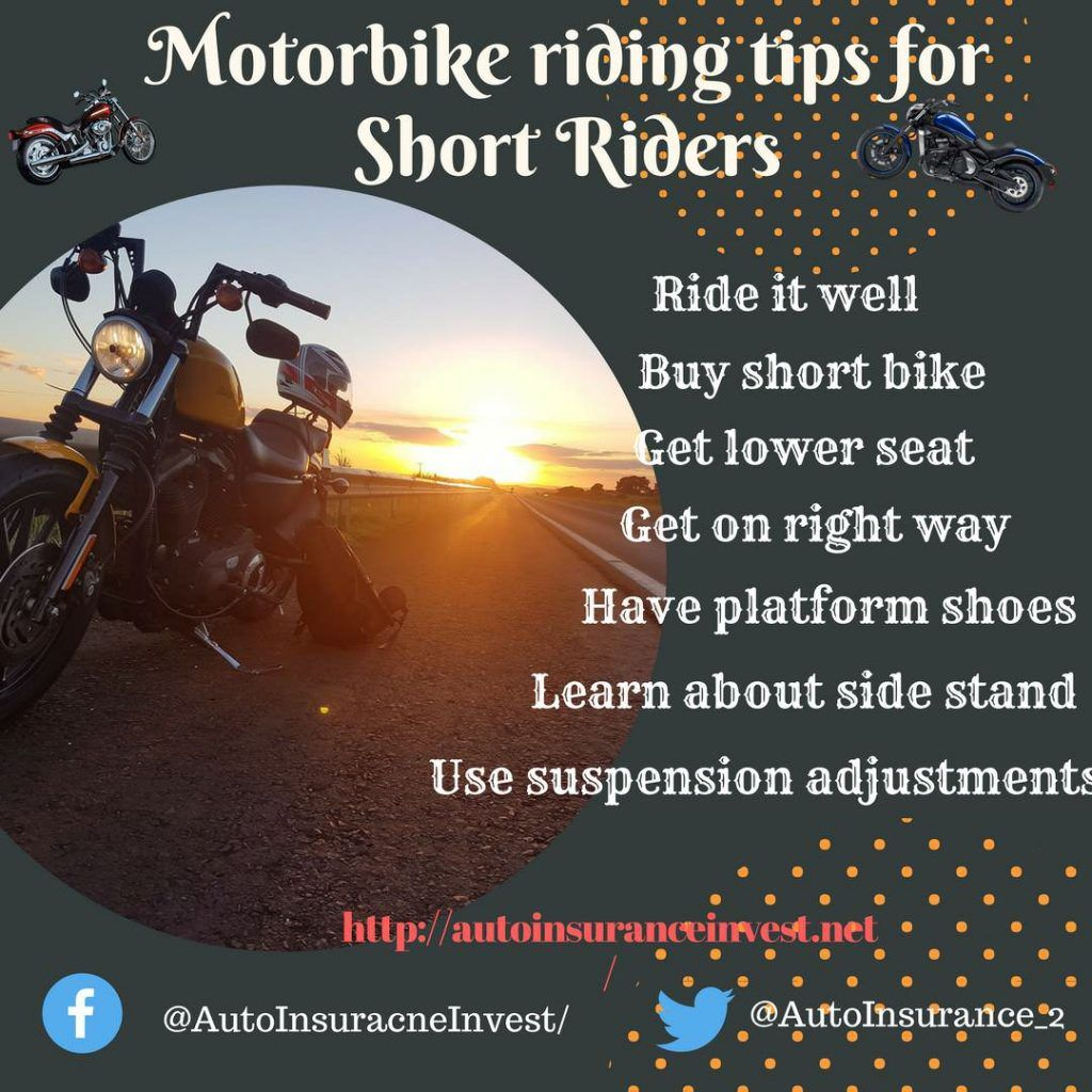 7 Motorbike Riding Tips For Short Riders With Images Bike