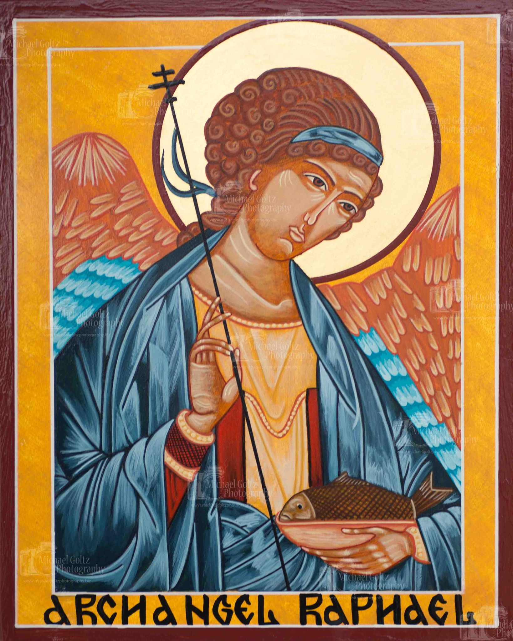 Archangel Raphael: the icon, in what helps, the prayer for healing 63