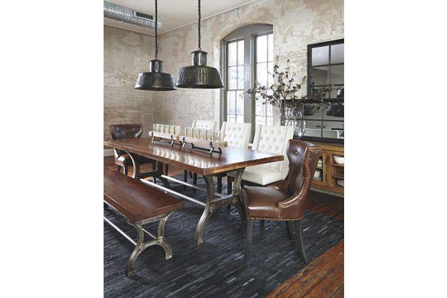 Brown Ranimar Dining Room Bench By Ashley HomeStore