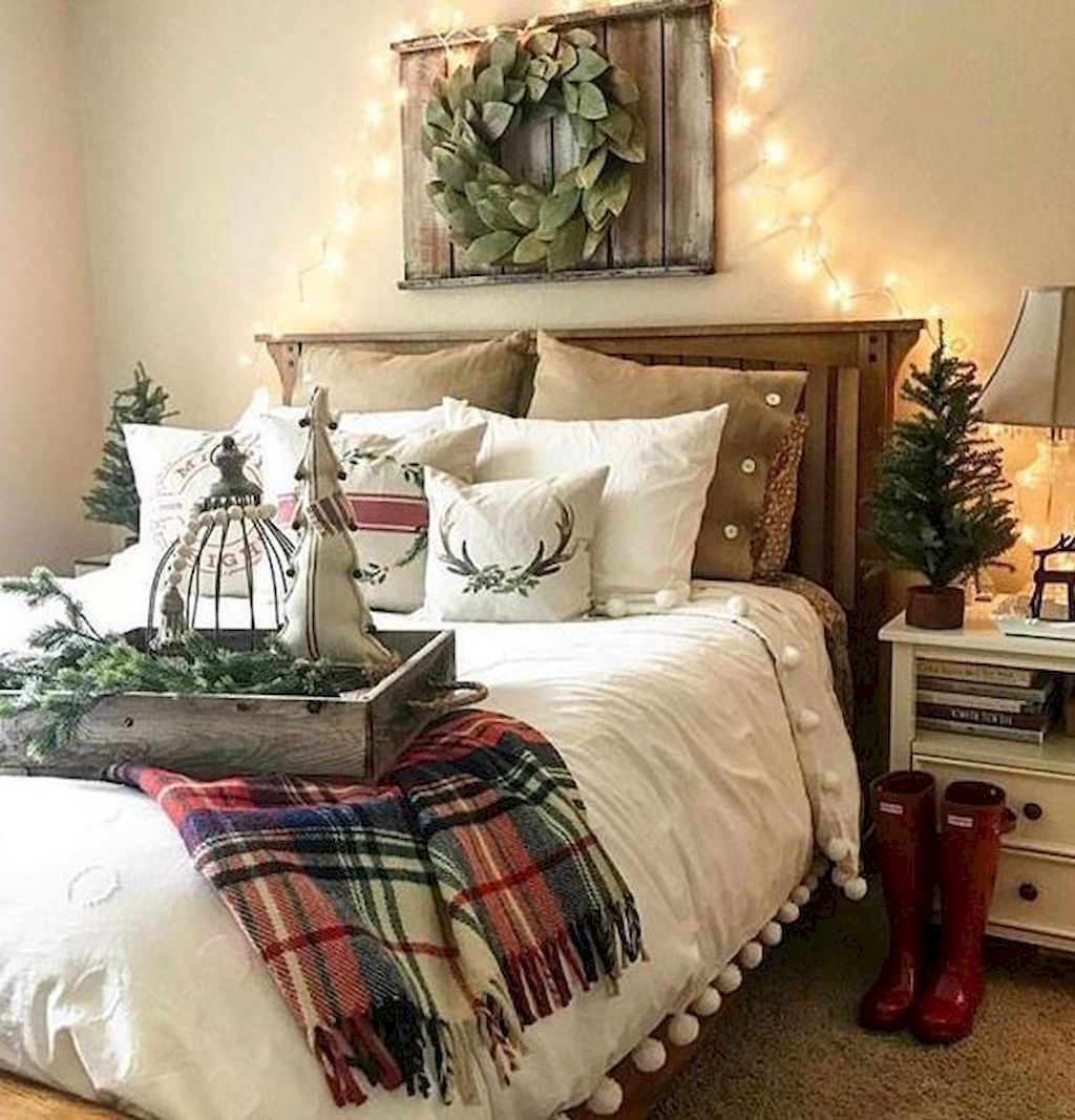 Awesome 95 Rustic Master Bedroom Farmhouse Style