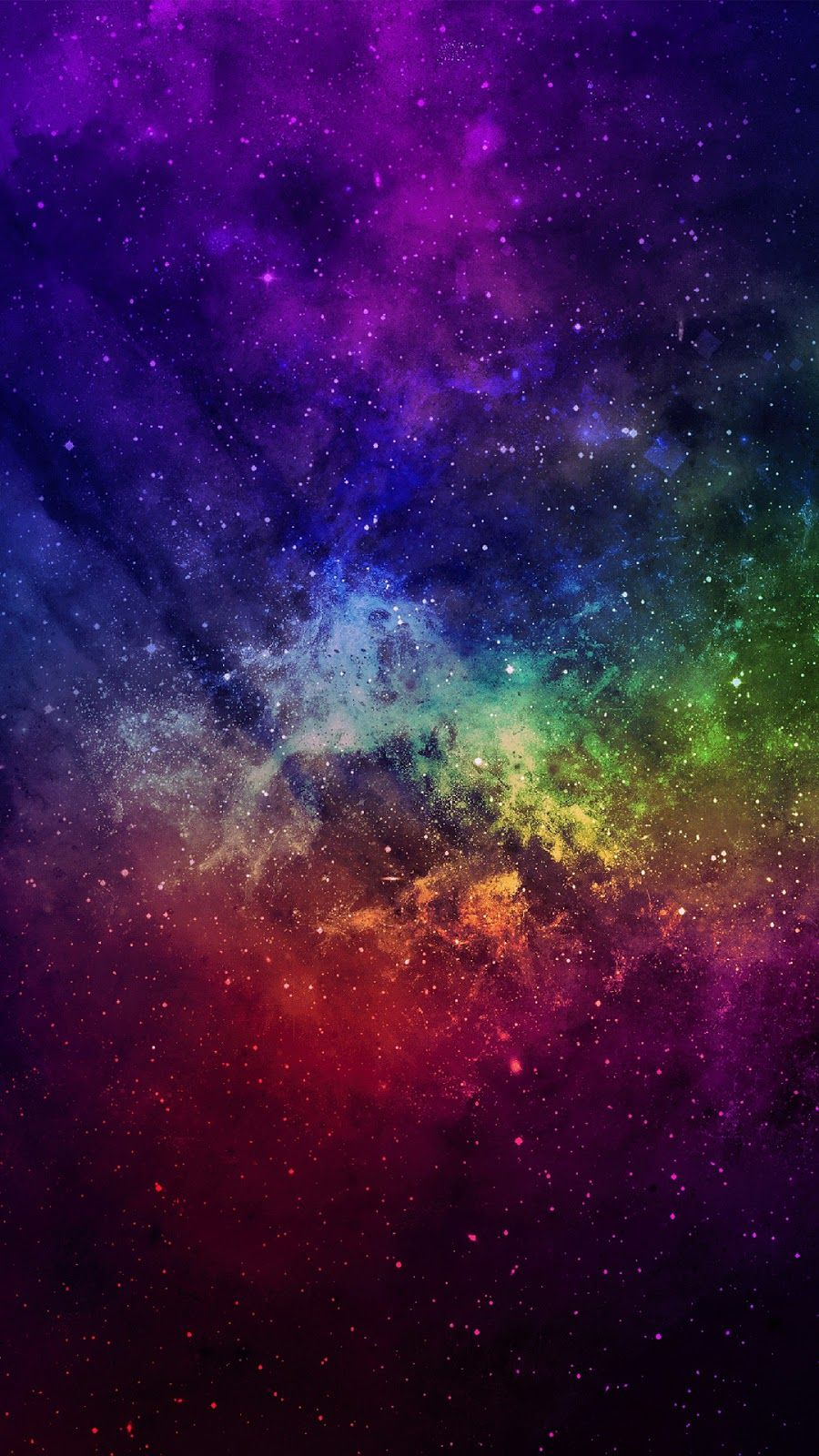 Colorful Space Space Phone Wallpaper Galaxy Wallpaper Wallpaper Space
