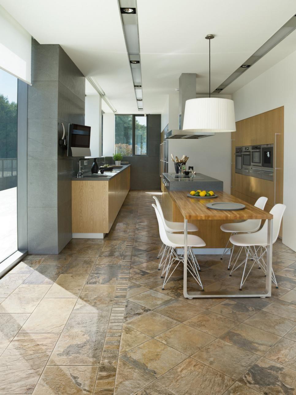 cheap versus steep kitchen flooring - Kitchen Flooring Options On A Budget