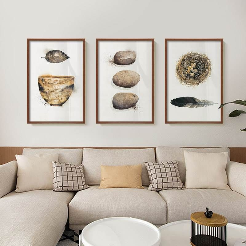 Delightful Beautiful Feathers Vintage Rustic Nordic Nature Paintings Nordicwallart Com Wall Art Pictures Nature Paintings Living Room Pictures