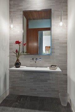 1401 Fountain Grass modern bathroom