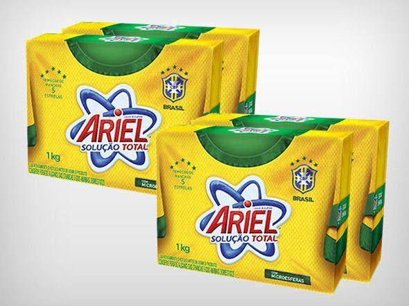 Ariel embalagem Copa do Mundo #2014FifaWorldCupBrasil