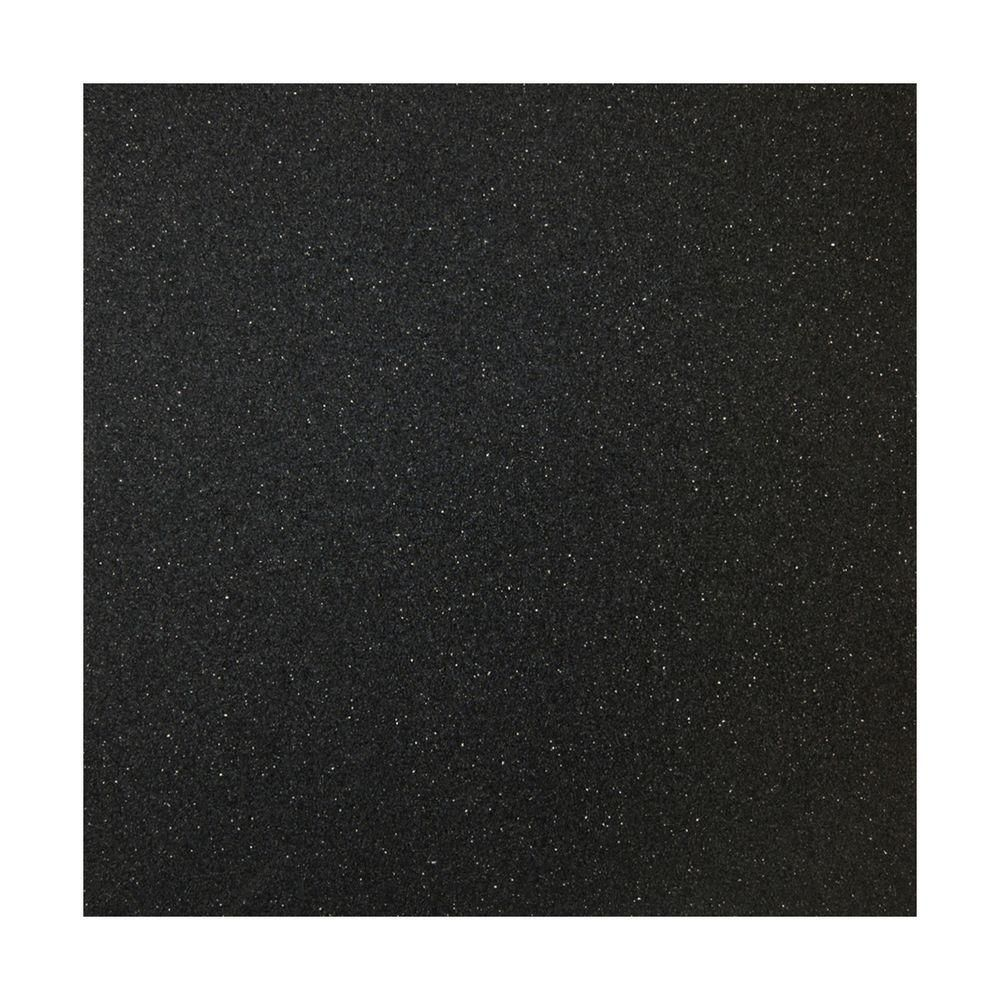TrafficMASTER 2 ft. x 10 ft. Black Rubber Flooring (20 sq