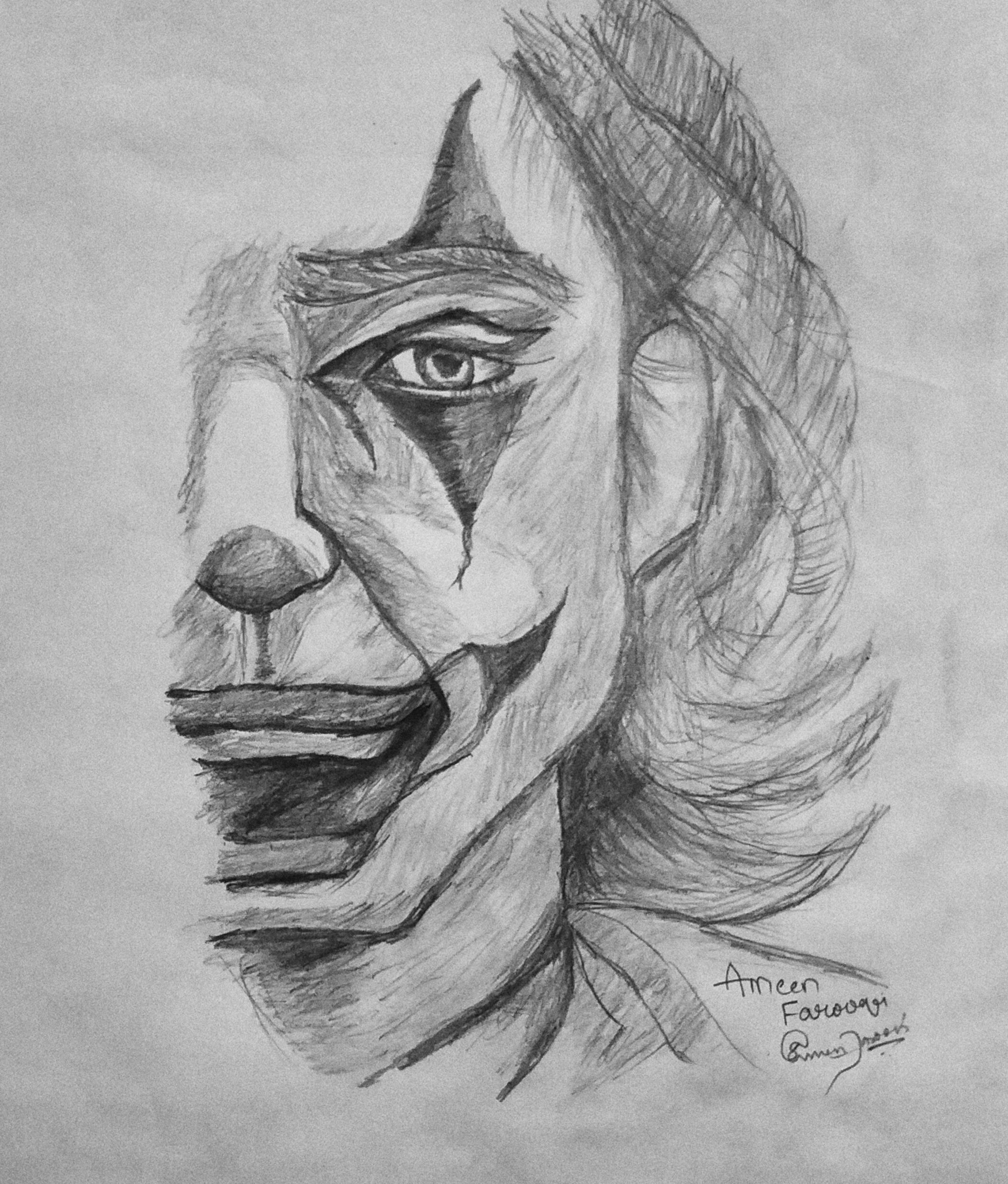 Sk H Pencil Drawings Joker Novocom Top