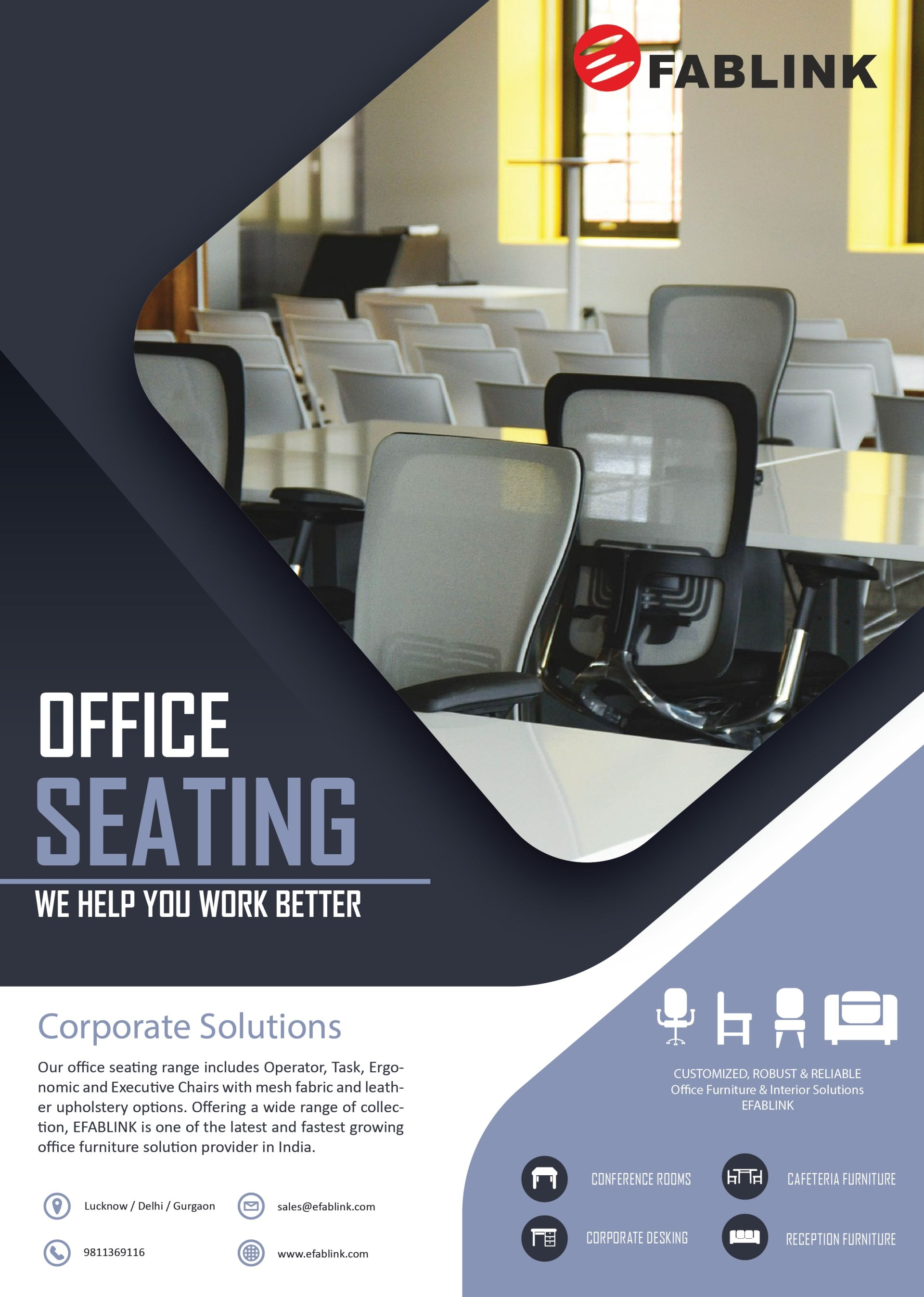 Office Seating Solutions By Efablink