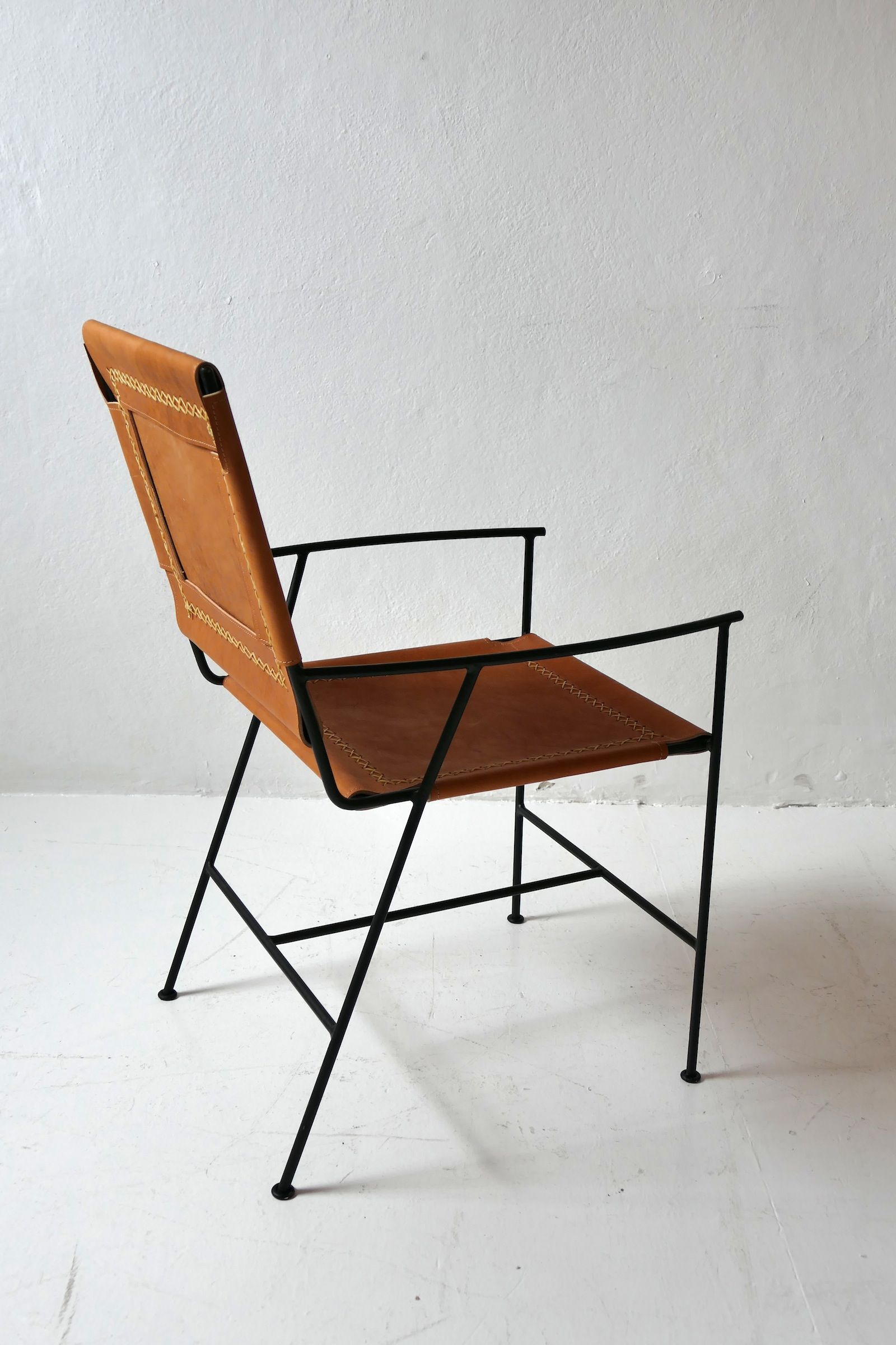 Incredible Saddle Leather Arm Chair Chairs Chair Dining Chairs Pdpeps Interior Chair Design Pdpepsorg