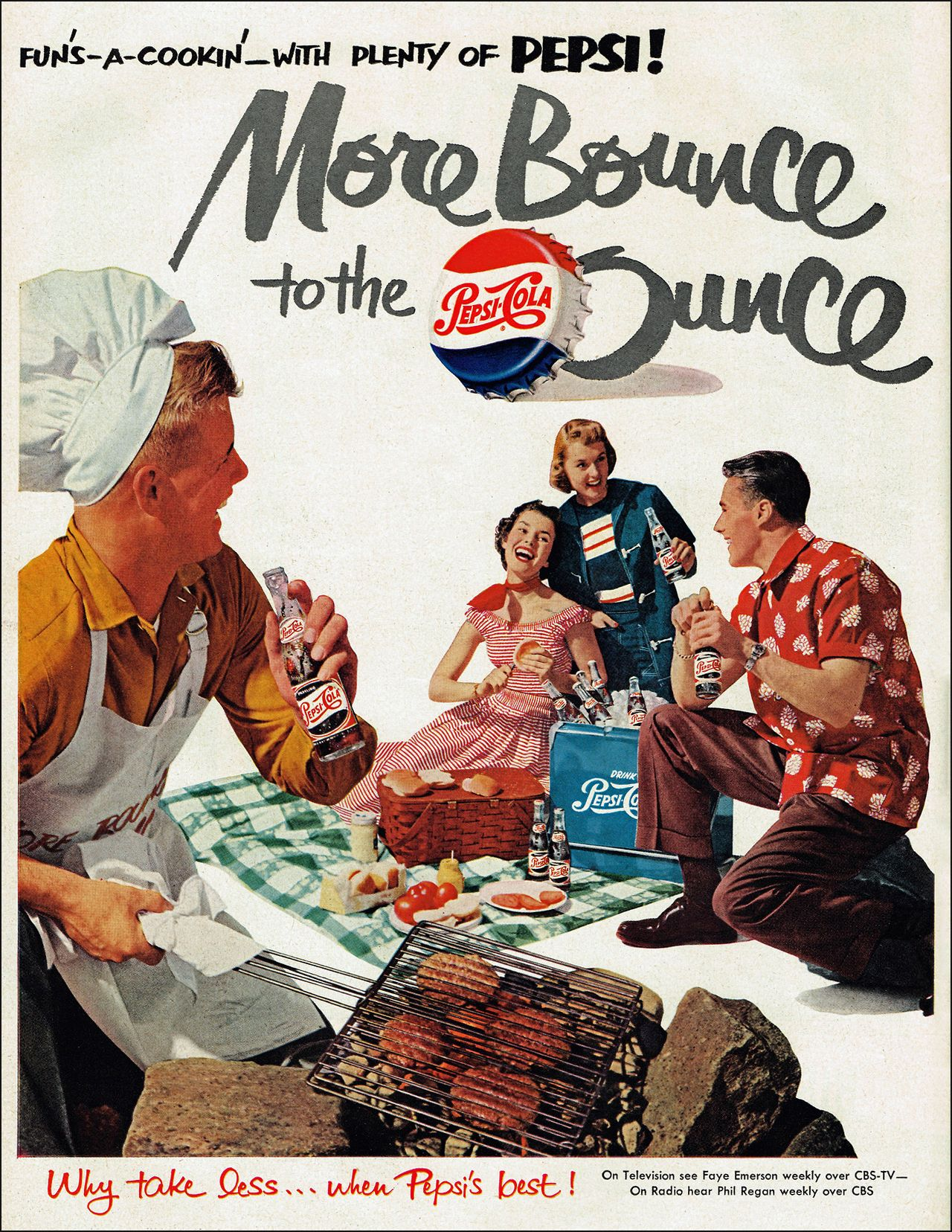 """More Bounce to the Ounce"" 1951 Pepsi 