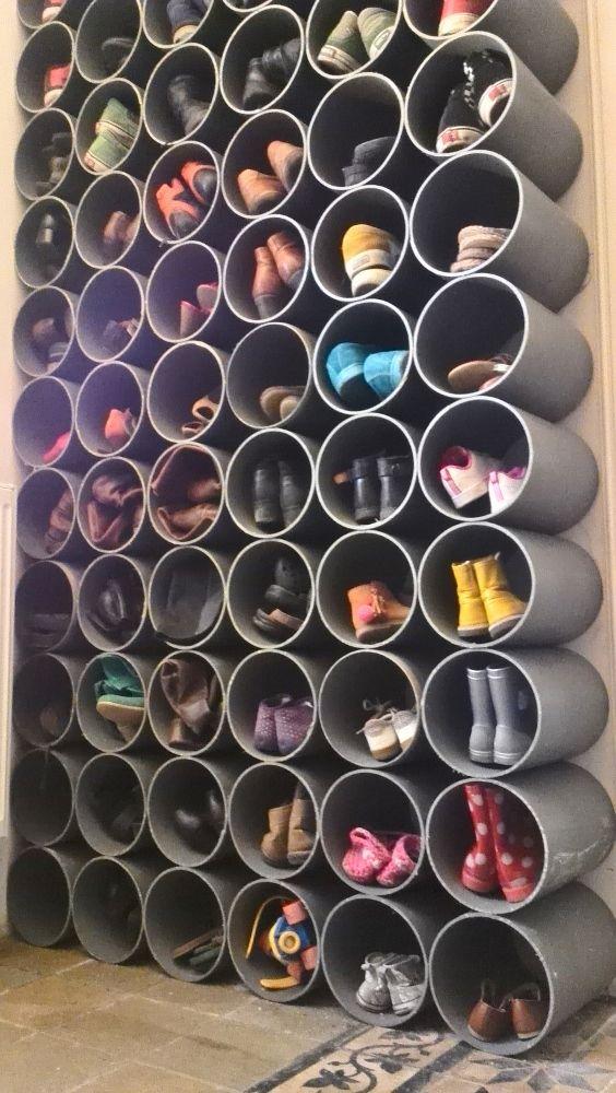 shoes entr e chambre en 2019 idee rangement chaussure. Black Bedroom Furniture Sets. Home Design Ideas