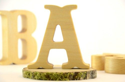 Custom Wooden Letters for Rustic Wedding, Home Decor and Nursery ...