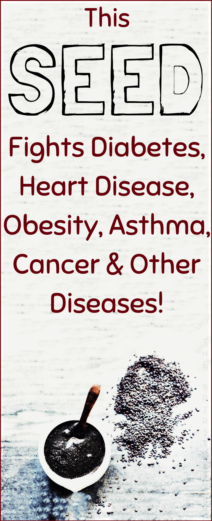 What Do Asthma Heart Disease And Cancer >> This Powerful Seed Fights Diabetes Heart Disease Obesity Asthma