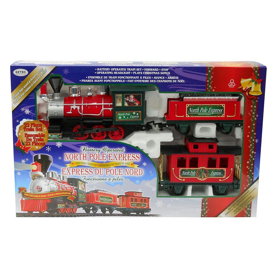Christmas North Pole Express Train Set | Christmas birthday gift ...