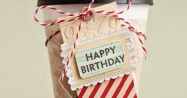 Happy Birthday Wish For The Coffee Lover Sratbucks Happy