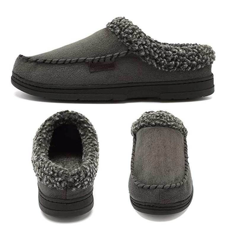 fe672fa1f396 Men s Warm Indoor Shoes House Slippers Suede Moccasins Winter Flats Fashion  New  fashion  clothing  shoes  accessories  mensshoes  slippers (ebay link)