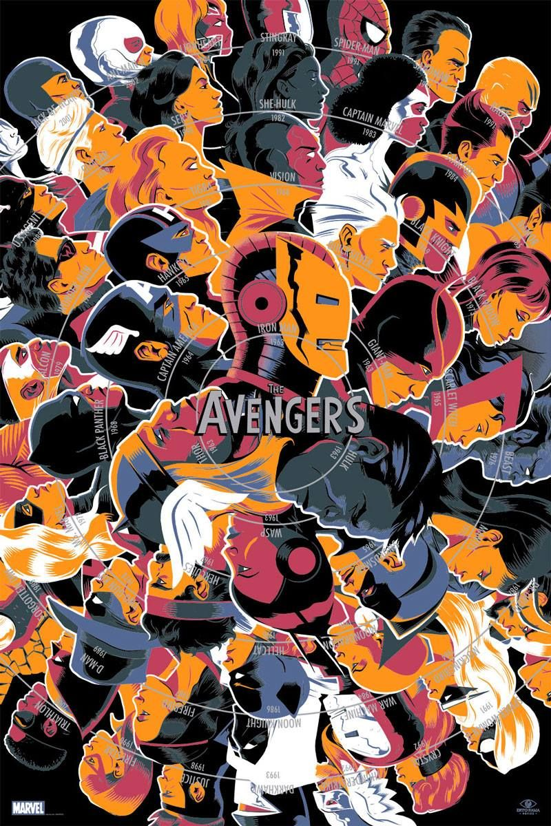 The Avengers by Matt Taylor *