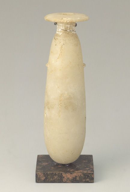 Alabaster Scent Jar 3rd Century B C H14 8cm Scent And Ointment