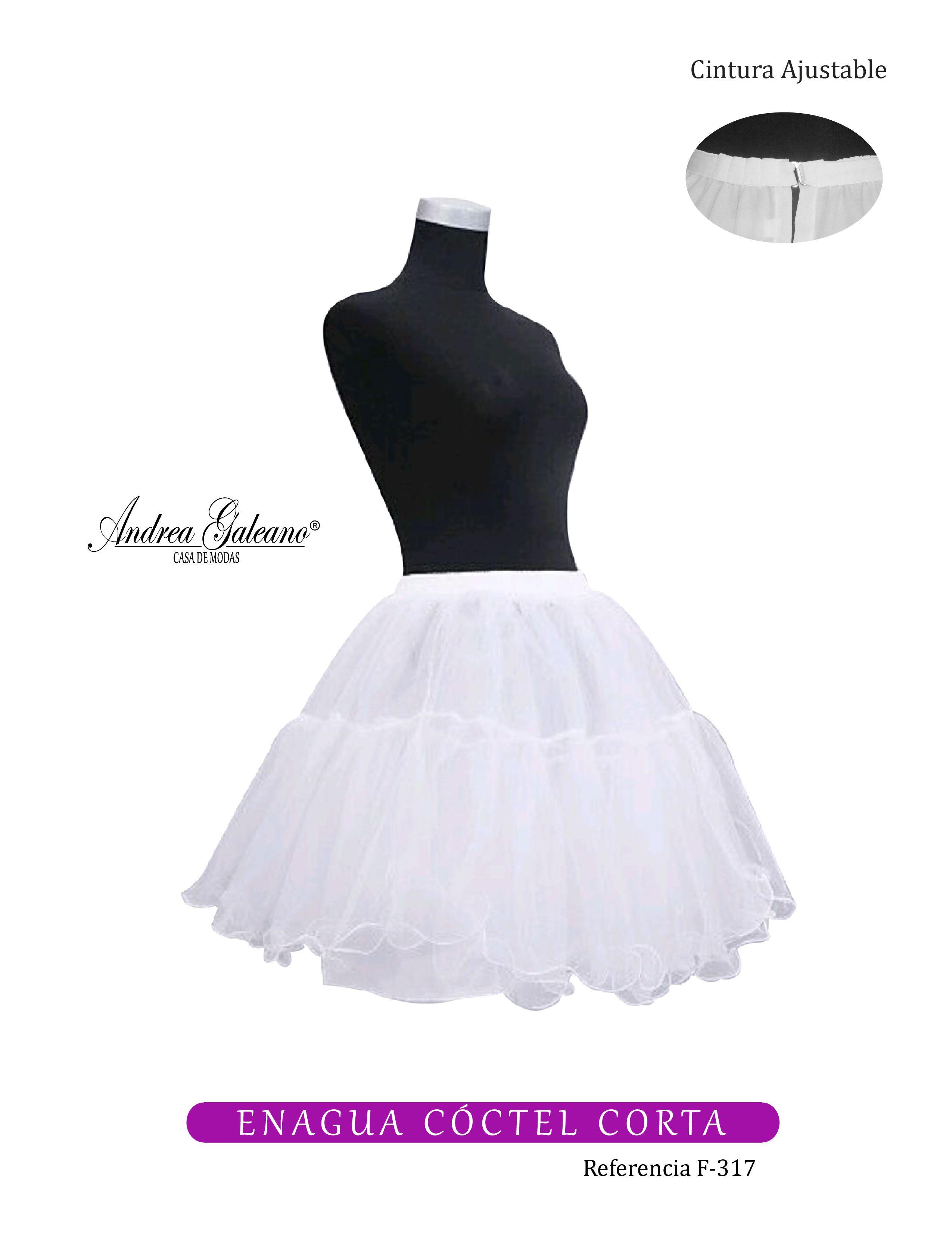 c1a4bebfa Enagua cóctel para vestidos de fiesta cortos. #vestidosfiesta ...