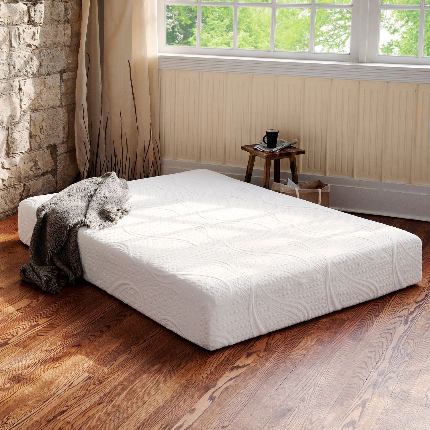 night therapy memory foam 8 inch pressure relief mattress various sizes sams club this would be great for a bunk bed - Sams Club Mattress Sale
