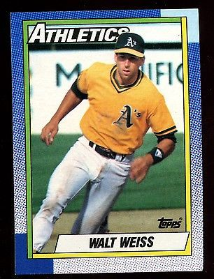 Walt #weiss, #athletics #165 #topps 1990 baseball card,  View more on the LINK: http://www.zeppy.io/product/gb/2/290951239527/