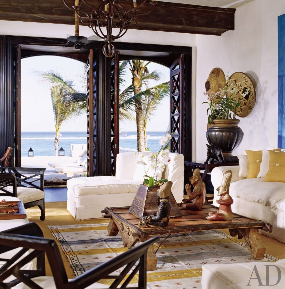 Exotic Living Room In A Home The Dominican Republic Designed By Juan Montoya West Indies DecorWest