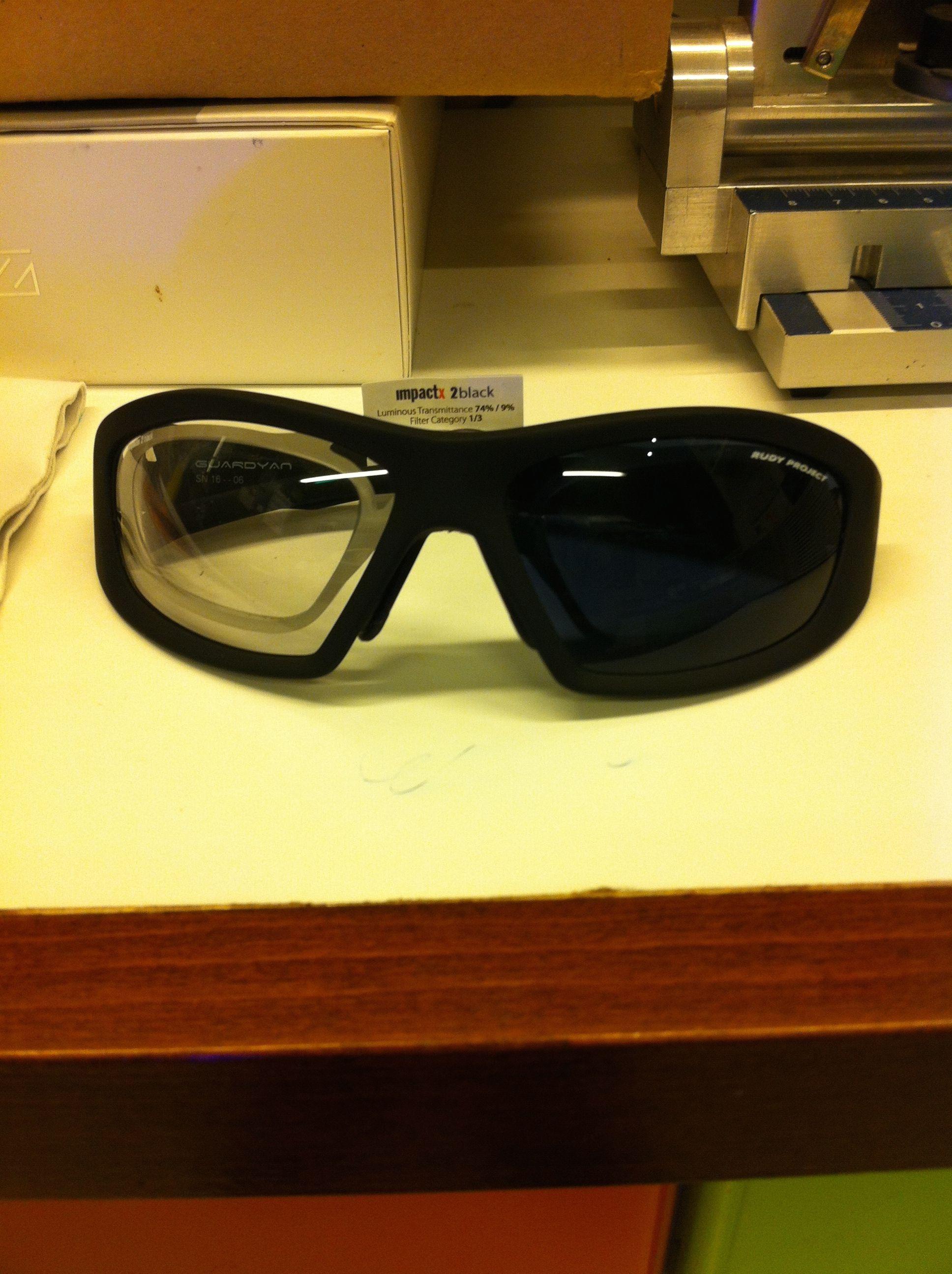 308613d04a Gafas graduadas rudy Project con clip Guardyan Outdoor Fotocromaticas