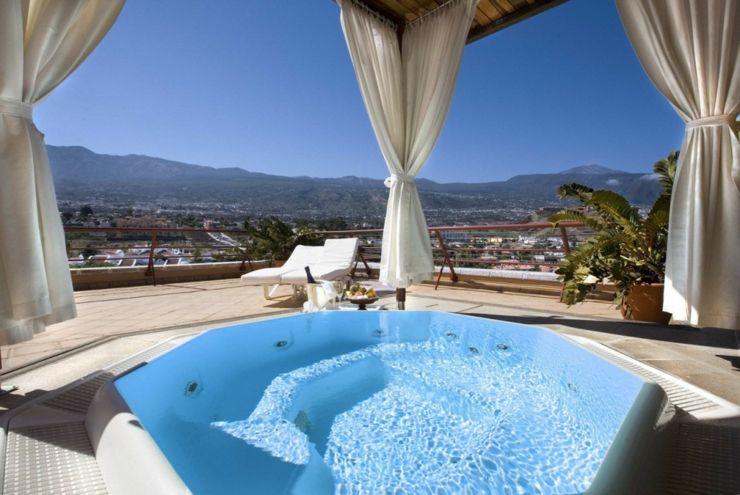 Hotel Botánico & The Oriental Spa Garden ofrece vistas impresionantes al Teide