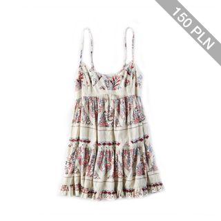 AEO Patterned Babydoll Dress