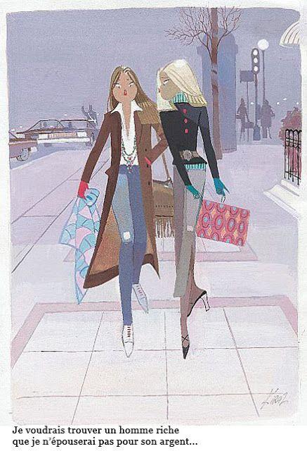NOIR BLANC un style: Les Parisiennes de Kiraz