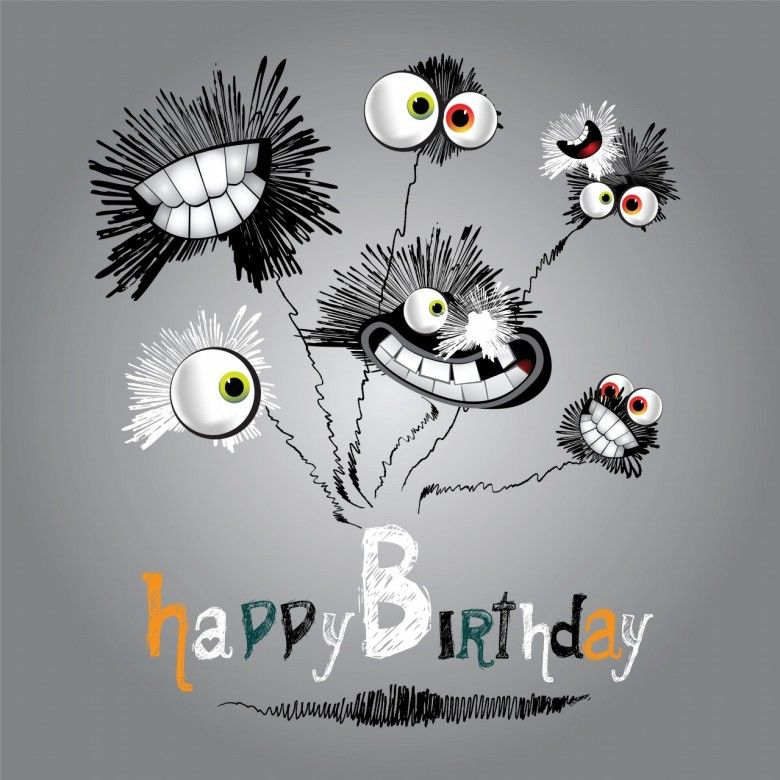 Funny Happy Birthday Cartoon Images Amazing Photos Happy