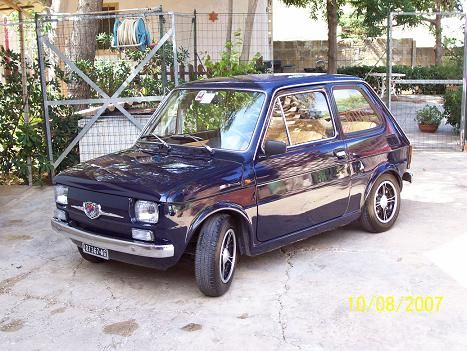 fiat 126 giannini gp anno 75 mini city car a pinterest fiat 126 fiat and fiat abarth. Black Bedroom Furniture Sets. Home Design Ideas