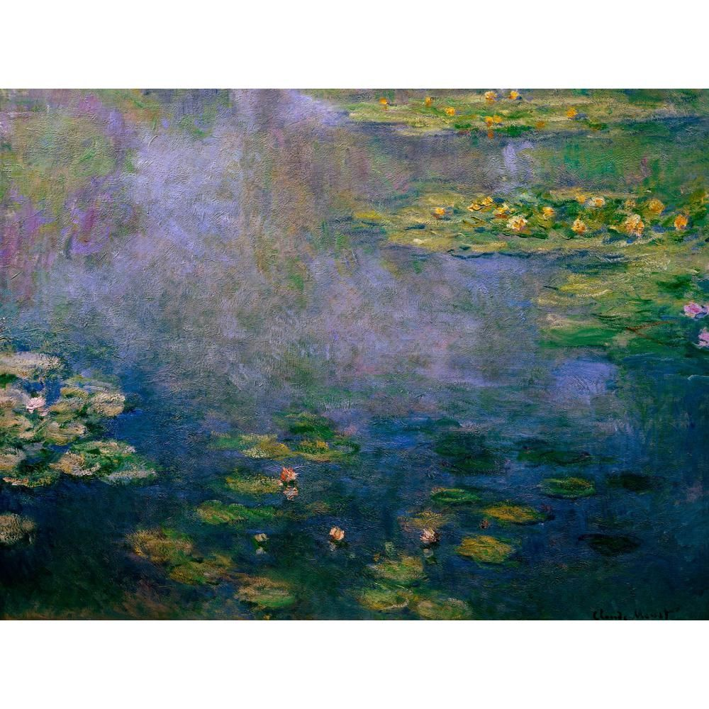 Claude Monet Paintings On Canvas Water Lilies Ii Hand Painted Wall Art Decor High Quality Claude Monet Water Lilies Monet Art Monet Water Lilies