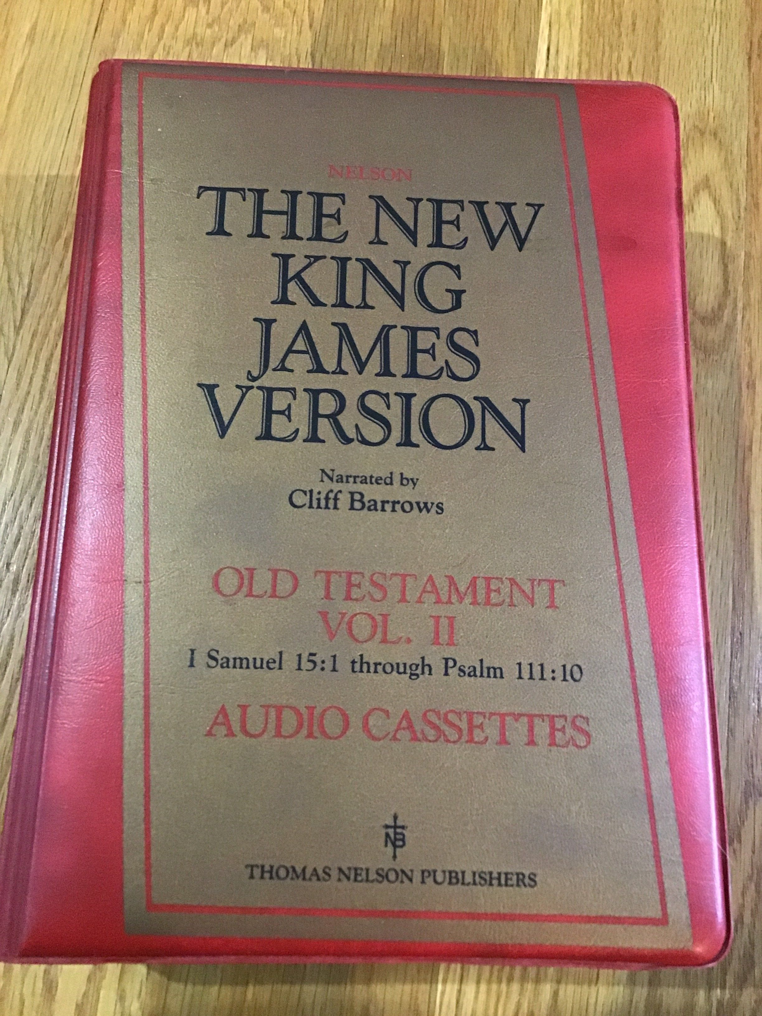 New King James Version Vol  ll  Audio Cassettes   Products