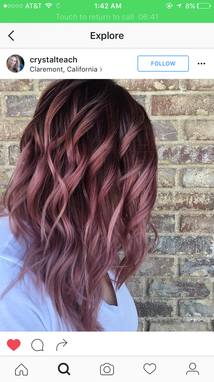 Pink and beautiful hair newhaircolor hair color u styles