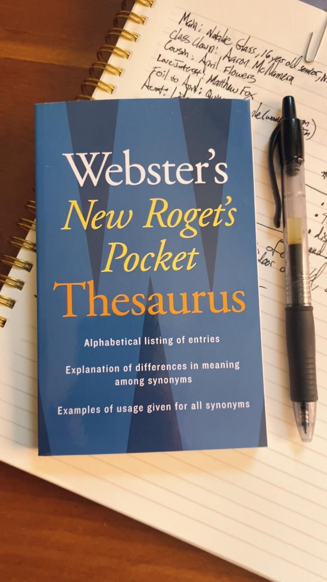 topic thesaurus by James Wieland | Author, Bookstagrammer, Freelance Writer