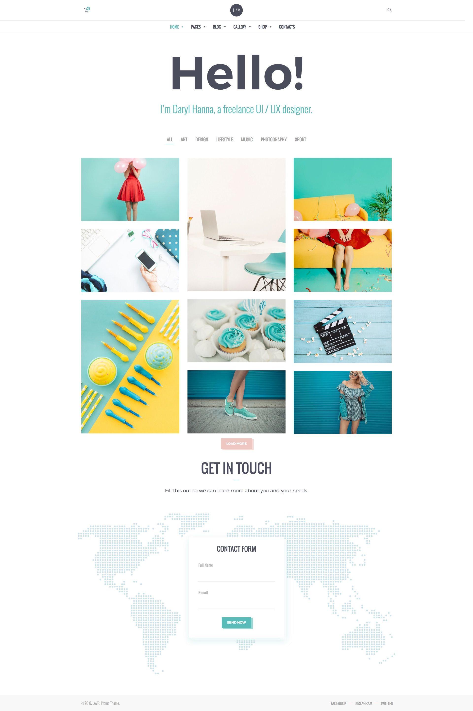 Lavr Creative Portfolio Portfolio Web Design Portfolio Website Design Online Portfolio Design