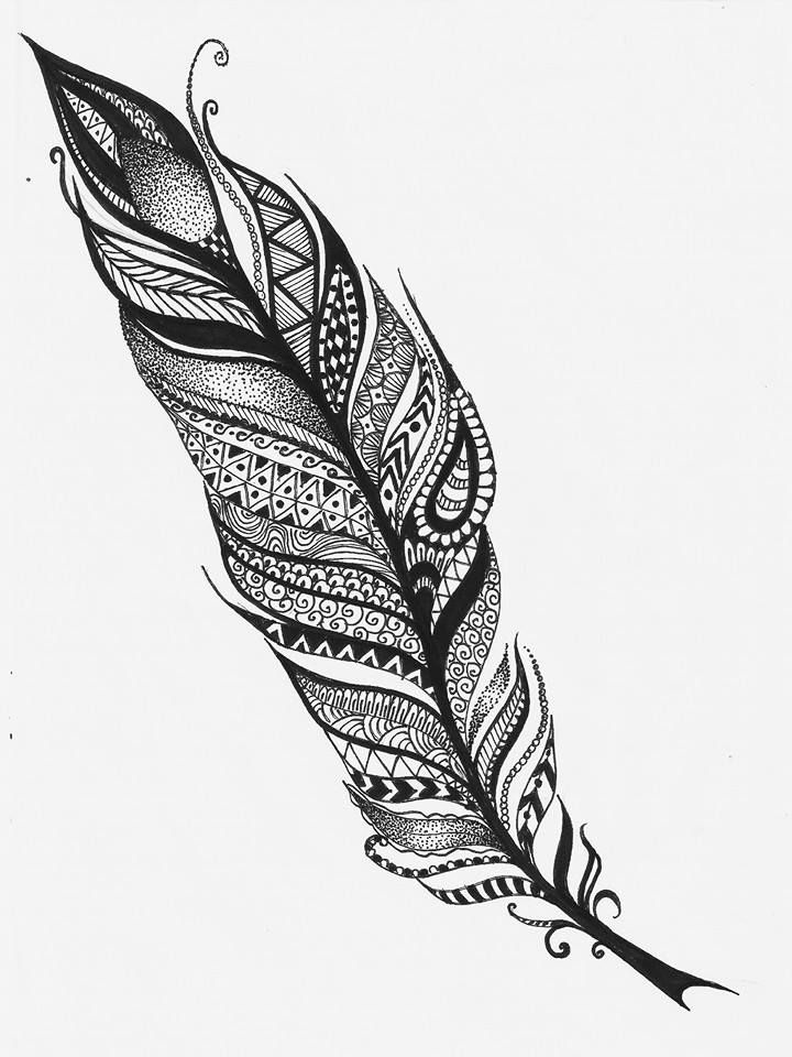 66809d6dd92829bd60e9045548b1a02a D8y3aab Jpg 720 960 Tribal Feather Collar Bone Tattoo Feather Meaning