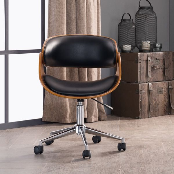 125 3 reviews good mid century adjustable office chair by corvus
