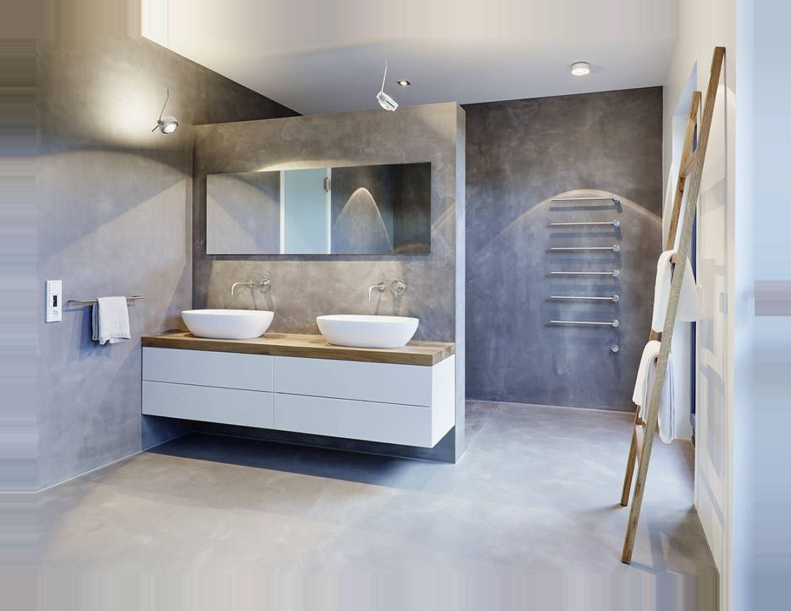 Penthouse Moderne Badezimmer Von Honeyandspice Innenarchitektur Design Modern Homify Finde Moderne Badezimmer Designs Entd In 2020 Vanity Bathroom Double Vanity