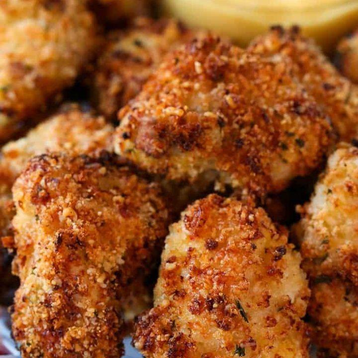 Fish nuggets with bang bang sauce mantitlement easy