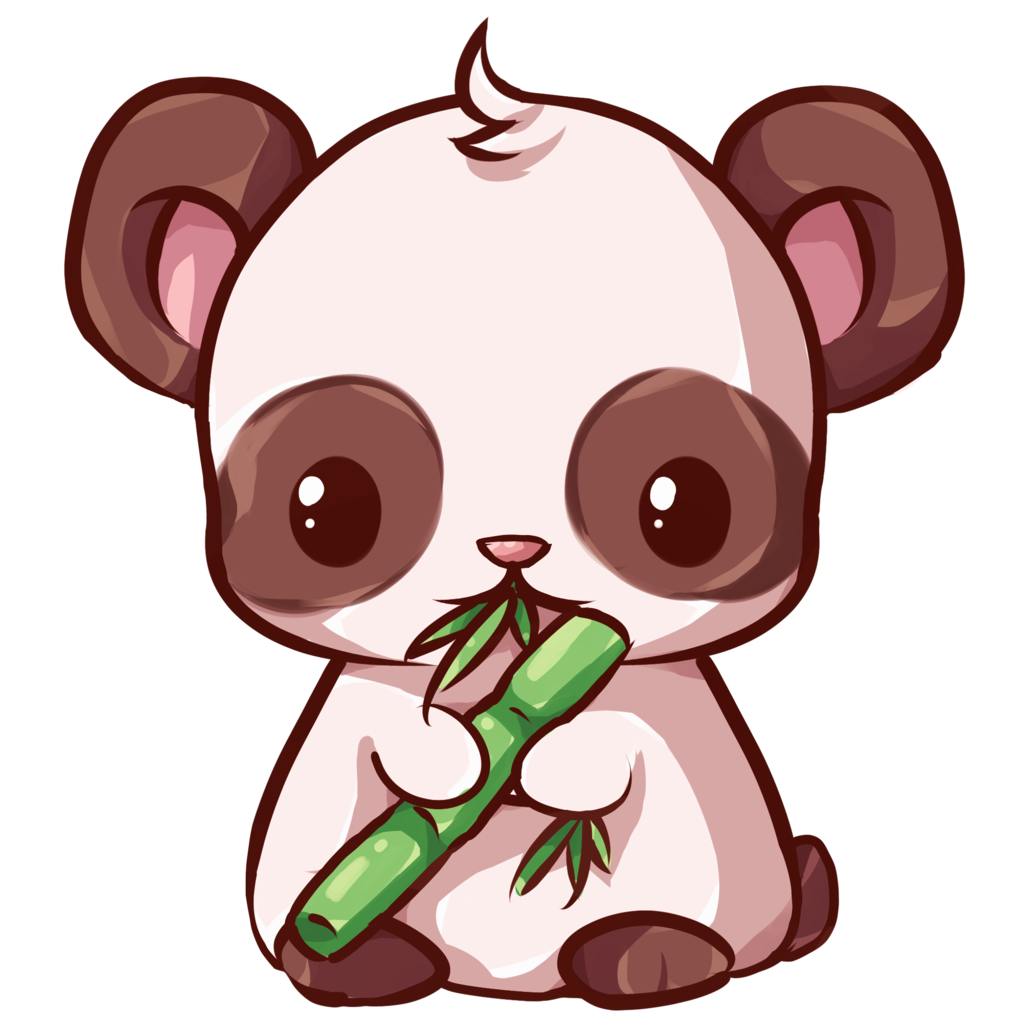 kawaii panda Buscar con Google Dibujos kawaii de
