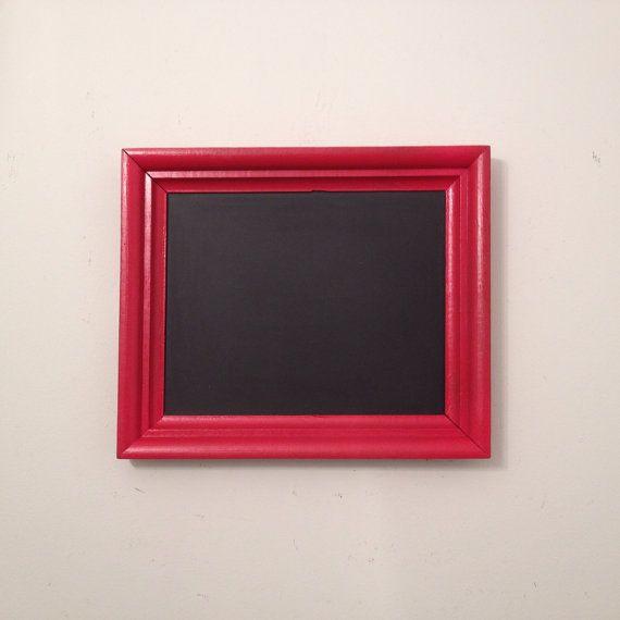 Antique Framed Chalkboard - Red, Rustic, Vintage, Wedding, Beach ...