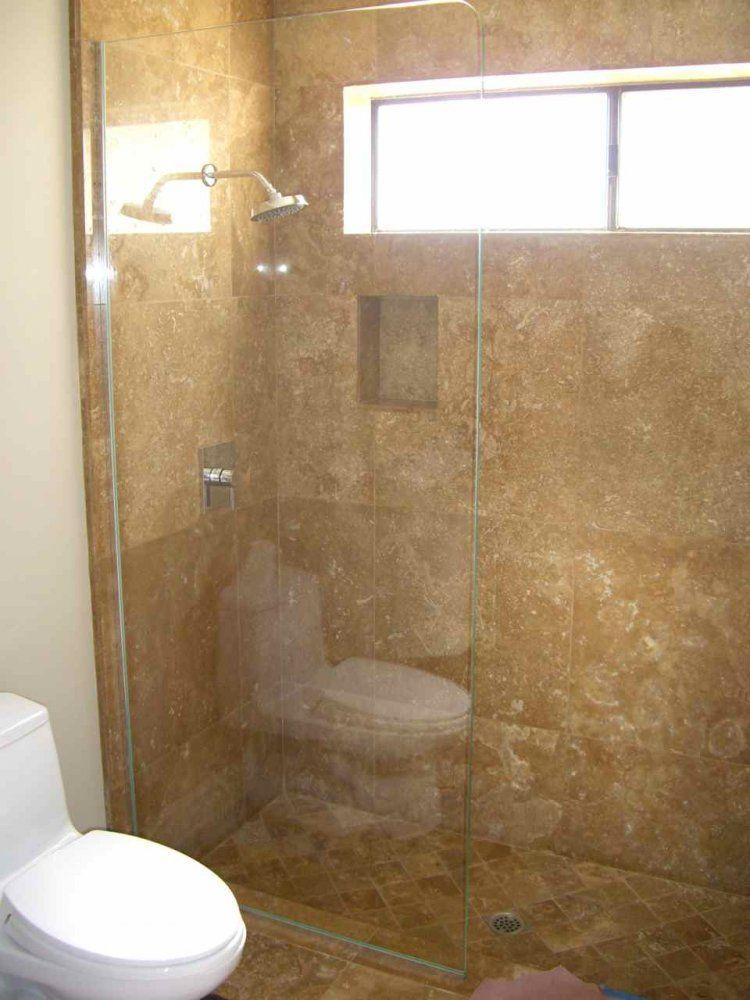 Glass Shower Divider :: Plain Glass Showers Partitions :: Sans ...