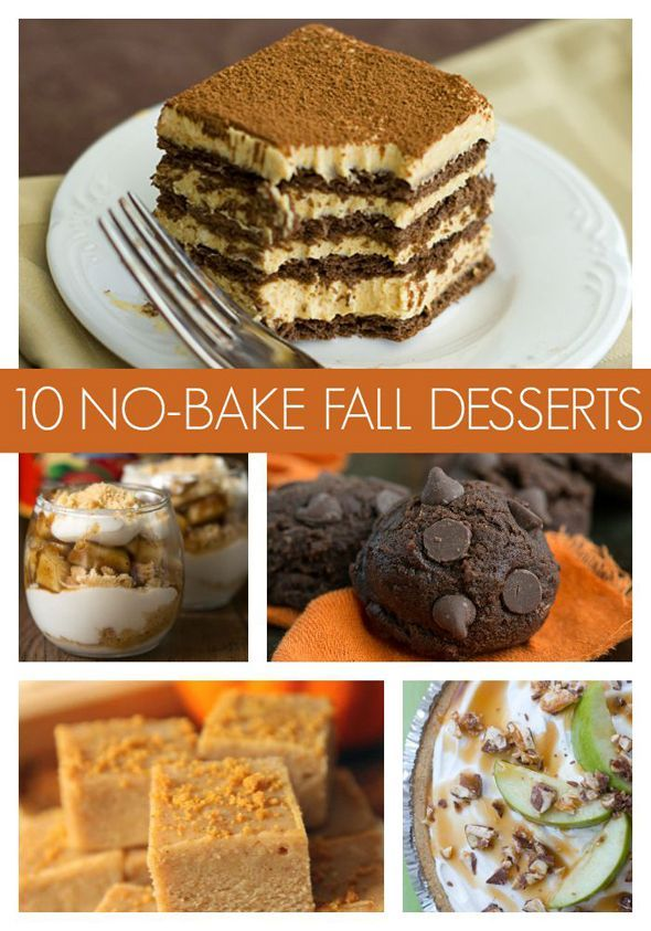 10 super easy no bake fall desserts super easy easy and bakeries 10 super easy no bake fall desserts party food recipesbaking forumfinder Image collections