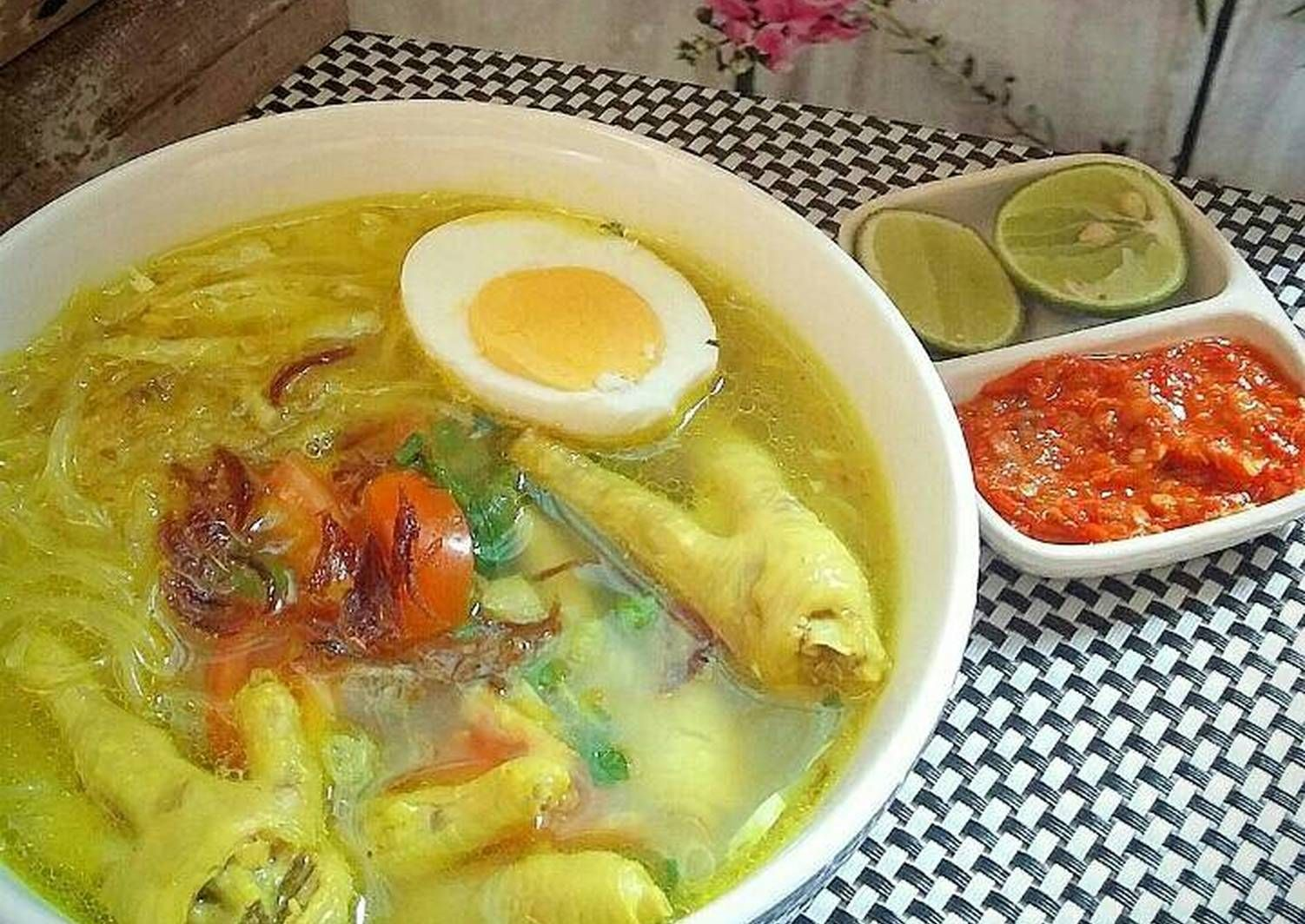 Resep Soto Ceker Oleh Susan Mellyani Resep Resep Resep Masakan Asia Resep Masakan