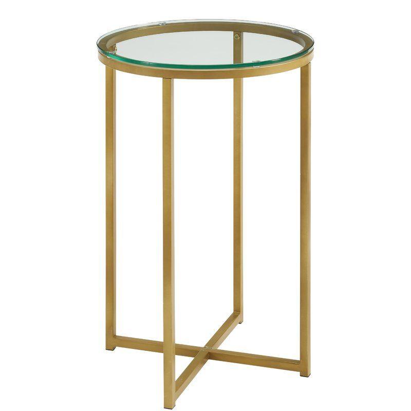Beistelltisch Leverette Tisch Mit Marmorplatte Beistelltisch Rund Beistelltisch