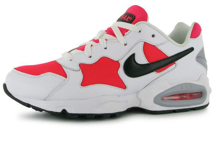 8eb31d6c9161 Mens Nike Air Max Triax 94 Trainers White Red UK Size 10 EUR 45 NEW ...