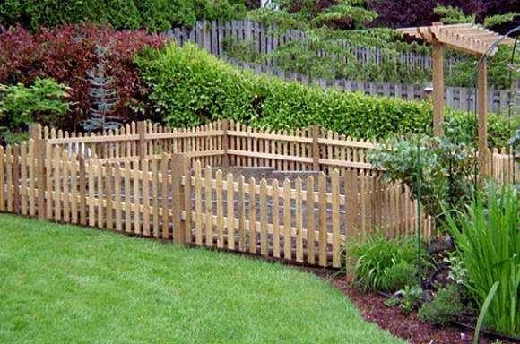 Inexpensive Fence Ideas Small Garden Fence Cheap Garden Fencing